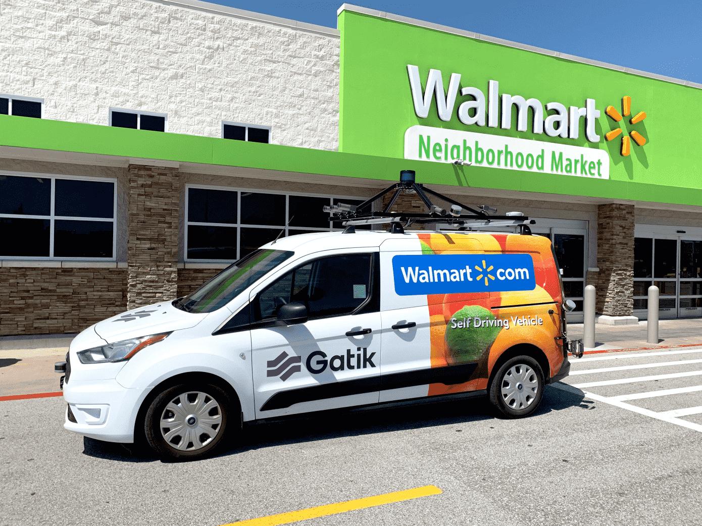 Gatik Announces Walmart Partnership